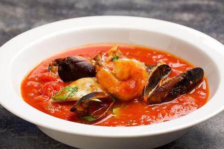 Суп Рыбный по-сицилийски