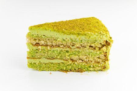 Порция Фисташкового торта