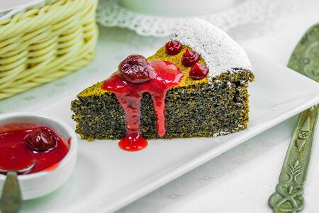 Десерт Маковый пирог