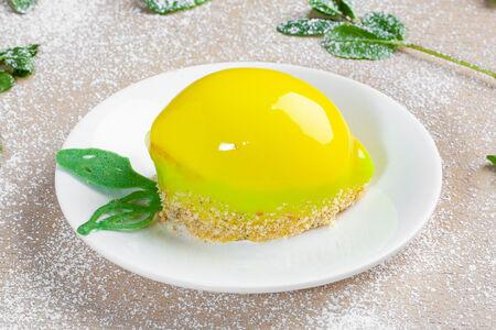 Торт Лимон и мята