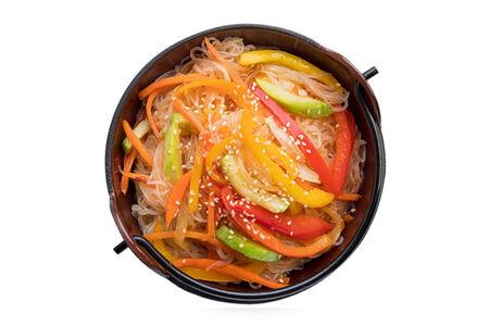 Фунчоза с овощами
