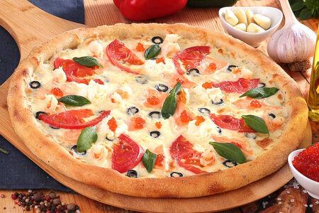 Пицца Морская пышная