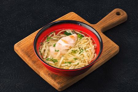 Суп Куриный с пастой креспелле