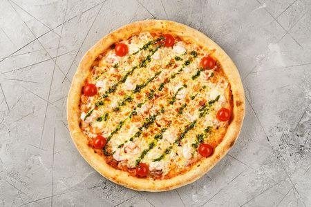 Пицца с креветками 28см
