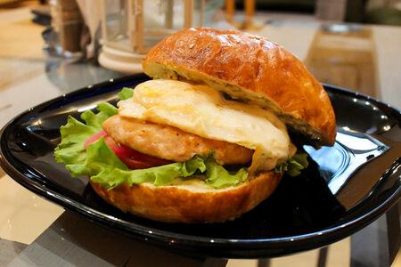 Бургер Чикен с тартар