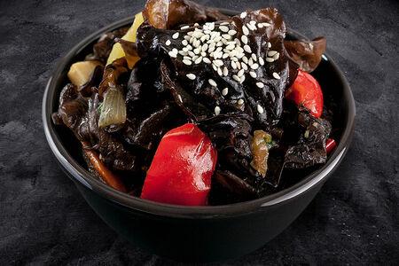 Салат Черные грибы