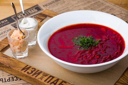 Суп Борщ с черносливом