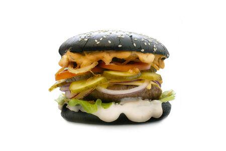 Черный бургер