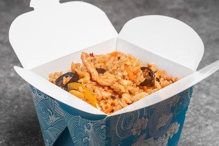 Рис с курицей и кешью