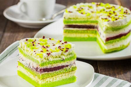 Торт Зеленый вельвет