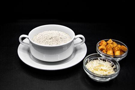 Крем-суп Сливочно-грибной