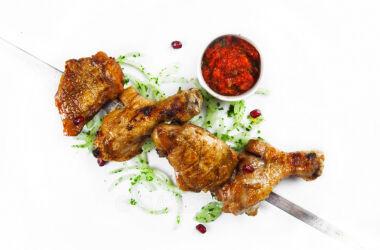 Шашлык Ассорти из курицы