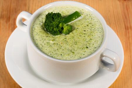 Суп-пюре из капусты брокколи