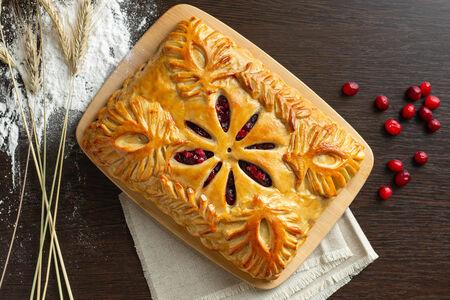 Русский пирог Клюква