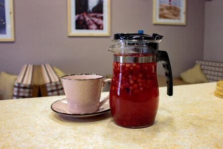 Чай ягодный брусника-клубника
