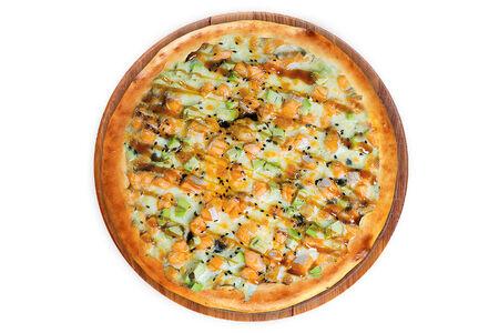 Пицца Терияки на пышном тесте