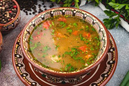 Суп Чорба от заек с манатарки
