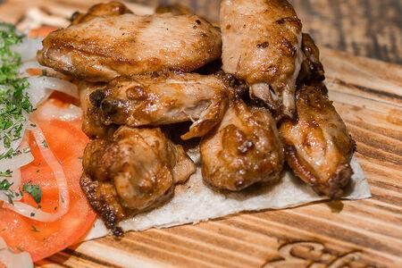 Куриные крылья гриль