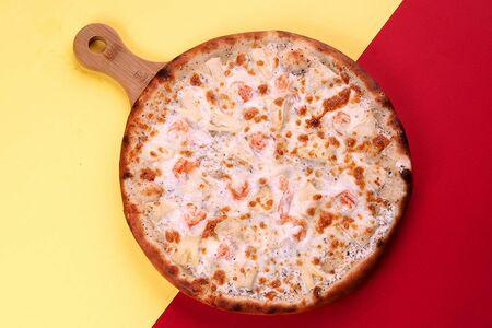 Пицца Таиландская с креветками