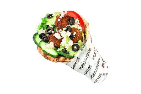 Гирос вегетарианский Фалафель