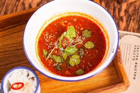 Азиатский суп с бычьими хвостами