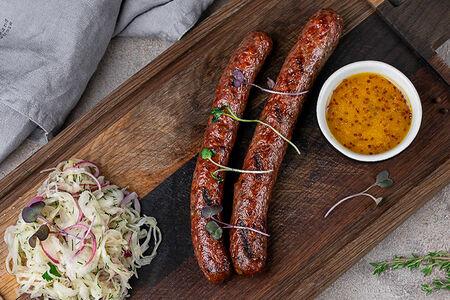 Нюрнбергские колбаски с квашеной капустой