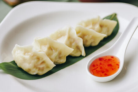 Пельмени Китайские с креветкой