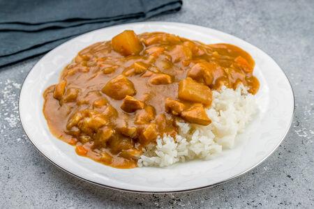 Карри с рисом неострый