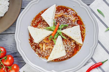 Тофу Кимчи с говядиной