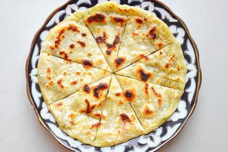 Хычин с картофелем и сыром