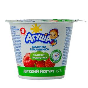 «Агуша» 2,6% малина-земляника