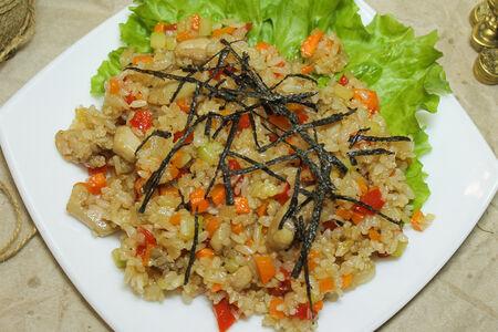 Вок с рисом
