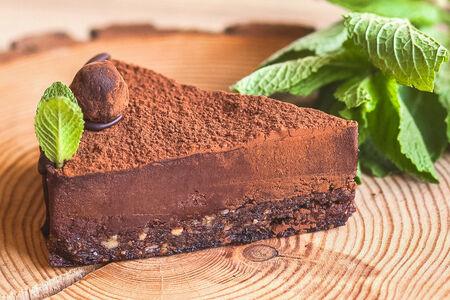 Шоколадный кешью-кейк