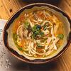 Фото к позиции меню Домашний куриный суп с лапшой