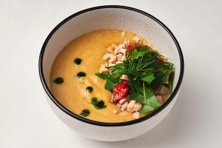 Крем-суп из белых овощей