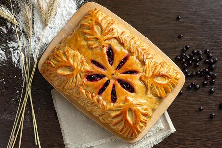 Русский пирог Черника