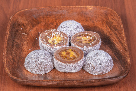 Десерт инжир-орех