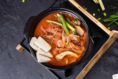 Суп Кимчи-Чиге со свининой