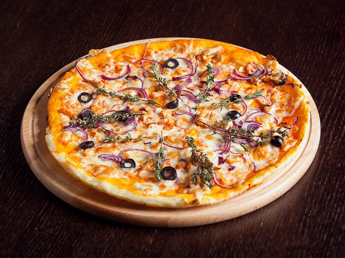 Пицца Норвежский лосось