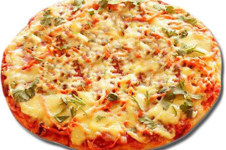 Пицца с Куриной пастромой