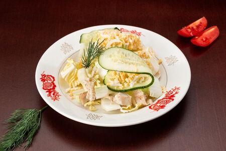 Салат Нежность с пекинской капустой