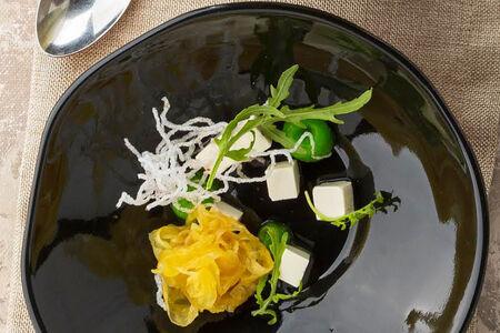 Крем-суп Тыквенный с фенхелем и тофу