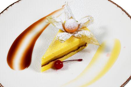 Манговый кейк