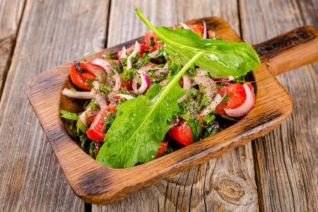 Салат из кутаисских помидоров