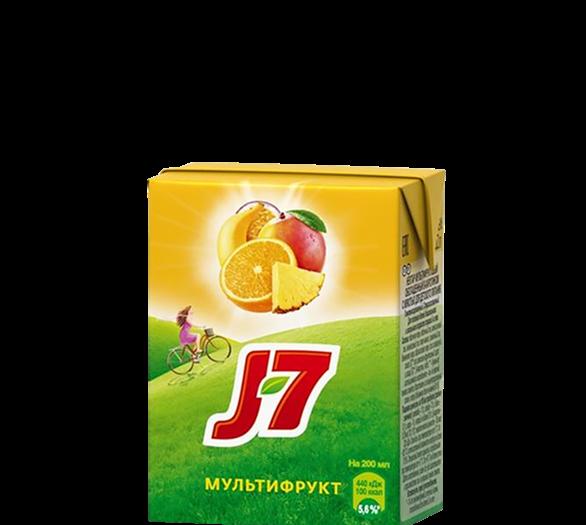 Сок J7 мультифрукт