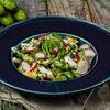 Фото к позиции меню Овощной салат с грядки