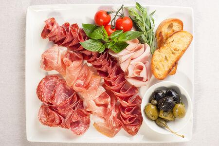 Мясное итальянское ассорти