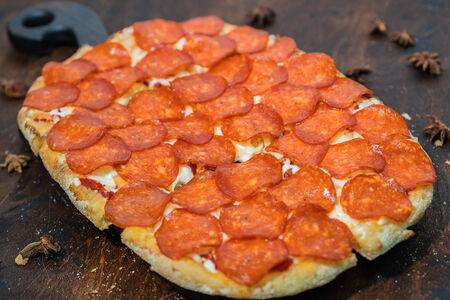 Пицца Пепперони на пшеничном тесте