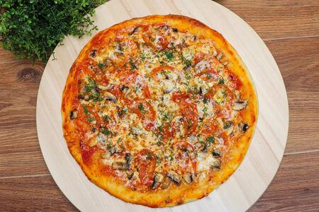 Пицца Олигарх с грибами
