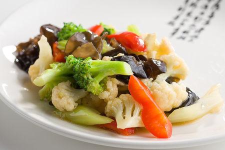 Пять овощей на воке
